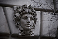 The nation's capitol, Washington, DC.<br />  A bas relief sculpture on the William Jefferson Clinton Federal Building.