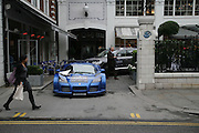 De Grisogono & Londino Car Rally  setting off from the Bluebird Building. King's Rd. London. 23 August 2007. Car rally which takes drivers through London, France, Switzerland and finally to Portofino .  -DO NOT ARCHIVE-© Copyright Photograph by Dafydd Jones. 248 Clapham Rd. London SW9 0PZ. Tel 0207 820 0771. www.dafjones.com.