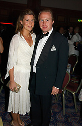 JOE BAMFORD and ALEX GORE BROWNE the Boodles Boxing Ball in aid of the sports charity Sparks  organised by Jez lawson, James Amos and Charlie Gilkes held at The Royal Lancaster Hotel, Lancaster Terrae London W2 on 3rd June 2006.<br /> <br /> NON EXCLUSIVE - WORLD RIGHTS