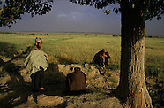 1985 Afghanistan. With the Moudjahidines in  Helmand. AFG351