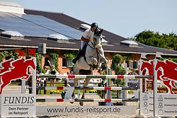 06, Springprfg. Kl. M** -Fundis-Tour-,, Ehlersdorf, Reitanlage Jörg Naeve, 15. - 18.07.2021, Tim Markus (GER), Carlotta 262,