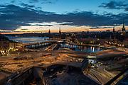 Harbour reconstruction, Stockholm, Sweden