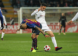 October 31, 2018 - Leon, Leon, Spain - Arturo Vidal of Barcelona in action during the King Spanish championship, , football match between Cultural Leonesa and Barcelona, October 31, in Reino de Leon Stadium in Leon, Spain. (Credit Image: © AFP7 via ZUMA Wire)