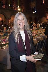 Patti Smith <br /> <br />  <br /> <br />  beim Nobelbankett 2016 im Rathaus in Stockholm / 101216 <br /> <br /> <br /> <br /> ***The Nobel banquet, Stockholm City Hall, December 10th, 2016***