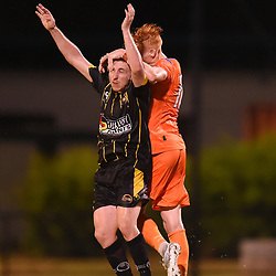 BRISBANE, AUSTRALIA - JANUARY 24:  during the Kappa Silver Boot Semi Final match between Lions FC and Moreton Bay United on January 24, 2018 in Brisbane, Australia. (Photo by Patrick Kearney)