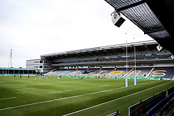 A general view of Sixways Stadium during the Gallagher Premiership fixture between Worcester Warriors and Gloucester Rugby, in behind closed doors conditions due to Covid-19 Protocols - Mandatory by-line: Robbie Stephenson/JMP - 15/08/2020 - RUGBY - Sixways Stadium - Worcester, England - Worcester Warriors v Gloucester Rugby - Gallagher Premiership Rugby