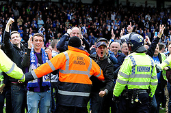 Bristol Rovers fans invade the pitch - Photo mandatory by-line: Dougie Allward/JMP - Mobile: 07966 386802 26/04/2014 - SPORT - FOOTBALL - High Wycombe - Adams Park - Wycombe Wanderers v Bristol Rovers - Sky Bet League Two