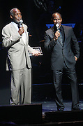 14 June 2010- Harlem, New York- l to r: Danny Glover and Jamie Foxx at The Apollo Theater's 2010 Spring Benefit and Awards Ceremony hosted by Jamie Foxx inducting Aretha Frankilin and Michael Jackson, and honoring Jennifer Lopez and Marc Anthony co- sponsored by Moet et Chandon which was held at the Apollo Theater on June 14, 2010 in Harlem, NYC. Photo Credit: Terrence Jennngs/Sipa