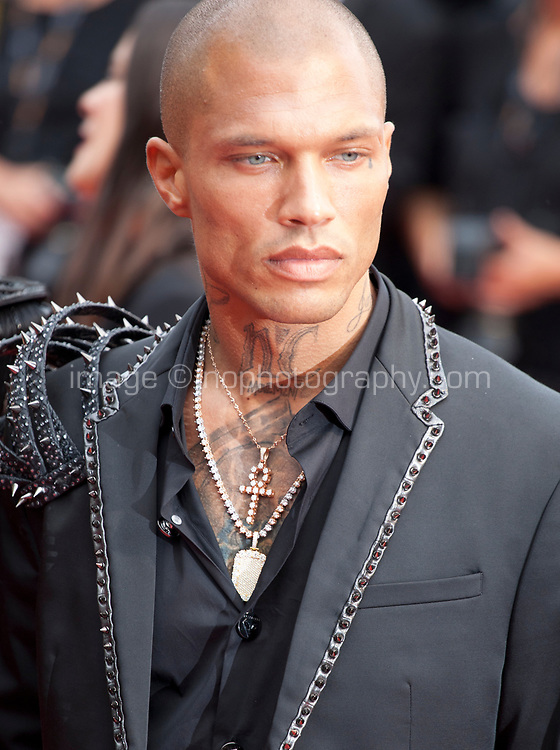 Jeremy Meeks at the Opening Ceremony and The Dead Don't Die gala screening at the 72nd Cannes Film Festival Tuesday 14th May 2019, Cannes, France. Photo credit: Doreen Kennedy
