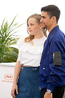 Marie Bernard and Shain Boumedine at Mektoub, My Love: Intermezzo film photo call at the 72nd Cannes Film Festival, Thursday 23rd May 2019, Cannes, France. Photo credit: Doreen Kennedy