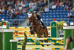 Belova Natalia, (RUS), Upset des Cinq Chenes<br /> Team completion and 2nd individual qualifier<br /> FEI European Championships - Aachen 2015<br /> © Hippo Foto - Dirk Caremans<br /> 20/08/15