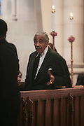 6 January 2010- New York NY- Congressman Charles Rangel at the Percy E. Sutton's Funeral held at The Riverside Church on January 6, 2010 in New York City. Photo Credit: Terrence Jennings/Sipa
