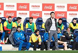 February 3, 2019 - Vila-Real, Castellon, Spain - Joan Francesc Ferrer, Rubi of RCD Espanyol during the La Liga match between Villarreal and Espanyol at Estadio de la Ceramica on February 3, 2019 in Vila-real, Spain. (Credit Image: © AFP7 via ZUMA Wire)