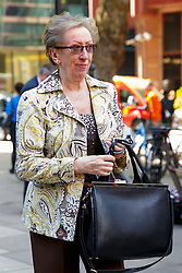 © Licensed to London News Pictures. 13/05/2015. LONDON, UK. Margaret Beckett MP attending Labour's National Executive Committee meeting to finalise leadership election arrangements at The Labour Party London Office on Wednesday, 13 May 2015. Photo credit : Tolga Akmen/LNP