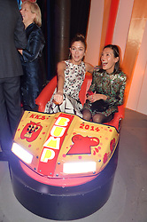 Left to right, QUENTIN JONES and HIKARI YOKOYAMA at 'The World's First Fabulous Fund Fair' in aid of the Naked Heart Foundation hosted by Natalia Vodianova and Karlie Kloss at The Roundhouse, Chalk Farm Road, London on 24th February 2015.