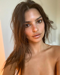 """Emily Ratajkowski releases a photo on Instagram with the following caption: """"Holding onto that Mexico tan \u2728"""". Photo Credit: Instagram *** No USA Distribution *** For Editorial Use Only *** Not to be Published in Books or Photo Books ***  Please note: Fees charged by the agency are for the agency's services only, and do not, nor are they intended to, convey to the user any ownership of Copyright or License in the material. The agency does not claim any ownership including but not limited to Copyright or License in the attached material. By publishing this material you expressly agree to indemnify and to hold the agency and its directors, shareholders and employees harmless from any loss, claims, damages, demands, expenses (including legal fees), or any causes of action or allegation against the agency arising out of or connected in any way with publication of the material."""