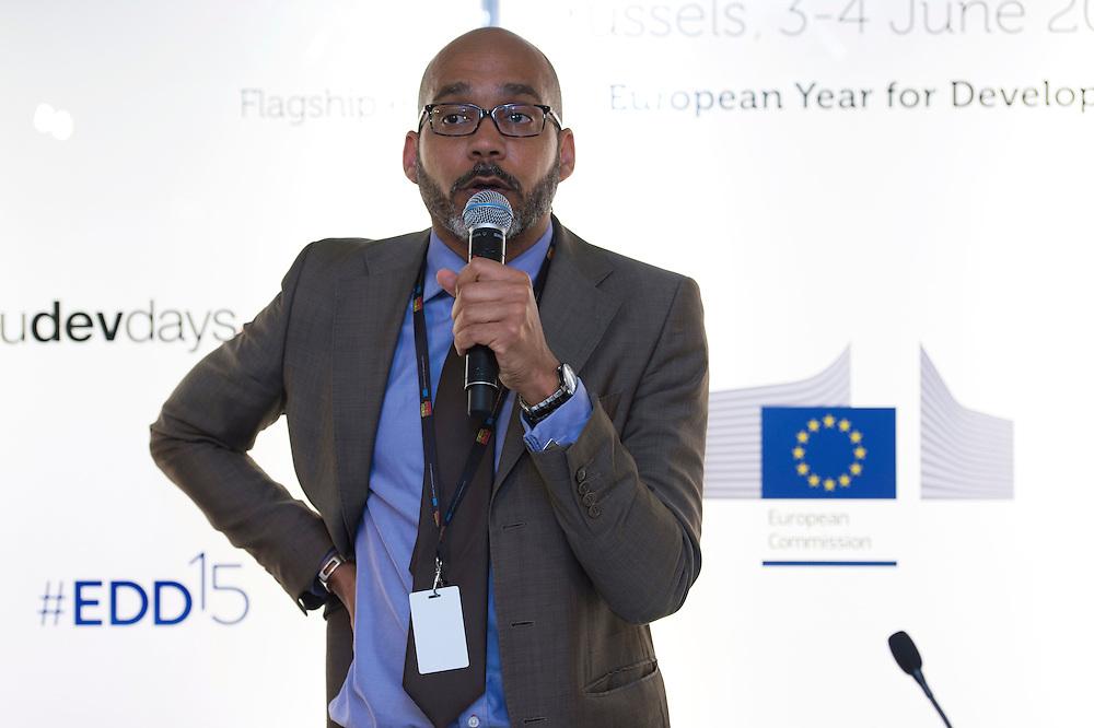 03 June 2015 - Belgium - Brussels - European Development Days - EDD - Jobs - Research for change - New knowledge for poverty eradication - Nick Ishmael Perkins , Director , SciDev.Net © European Union