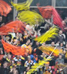 02.03.2010, Albert Schultz Halle,Wien, AUT, EBEL, Vienna Capitals vs SAPA Fehervar AV19,im Bild Fans der Capital, EXPA Pictures © 2010, PhotoCredit: EXPA/ M. Gruber / SPORTIDA PHOTO AGENCY