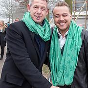 NLD/Almere/20150318 - Nationale Boomplantdag 2015, voorzitter Onno Hoes en Jamai Loman