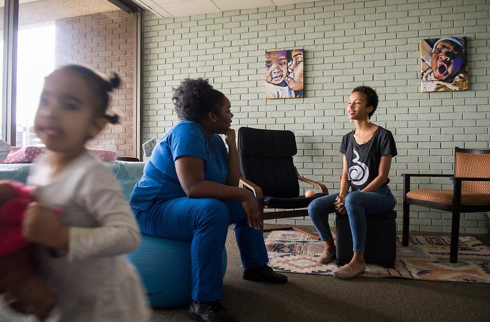 Latona Giwa of Birthmark Doula Collective in New Orleans.