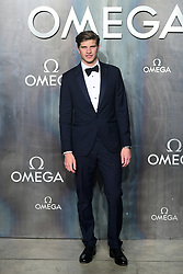 Toby Huntington-Whiteley attending the Lost in Space event to celebrate the 60th anniversary of the OMEGA Speedmaster held in the Turbine Hall, Tate Modern, 25 Sumner Street, Bankside, London.
