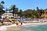 Descanso Beach Club During Summer
