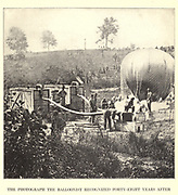 """the balloon Intrepid to reconnoiter the battle of Fair Oaks,"""" wrote Professor T. S. C. Lowe from the book ' The Civil war through the camera ' hundreds of vivid photographs actually taken in Civil war times, sixteen reproductions in color of famous war paintings. The new text history by Henry W. Elson. A. complete illustrated history of the Civil war"""
