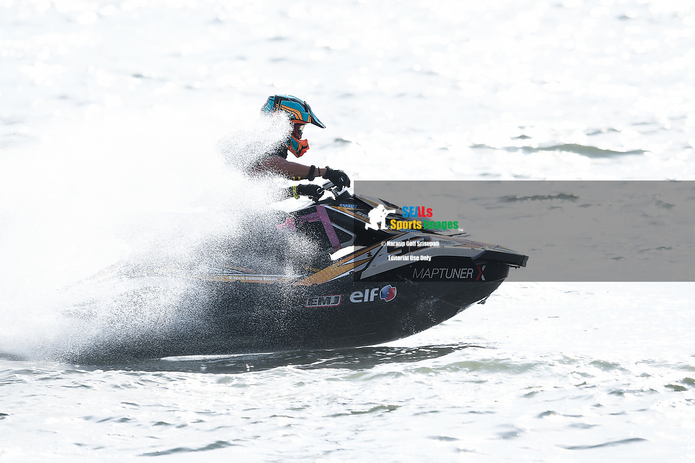 PATTAYA, THAILAND - DECEMBER 09: Tadao Hayashiguchi (J92) of Japan and Precious Racing in action during the Pro Runabout 1100 Open Moto4 at the Thai Airways International Jet Ski World Cup 2018, Jomtien Beach, Pattaya, Thailand on December 09, 2018. <br /> .<br /> .<br /> .<br /> (Photo by: Naratip Golf Srisupab/SEALs Sports Images)<br /> .<br /> Any image use must include a mandatory credit line adjacent to the content which should read: Naratip Golf Srisupab/SEALs Sports Images