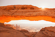 Sunrise at Mesa Archway, Canyonlands National Park, Utah, United States of America