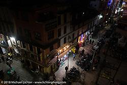 Freak Street in Kathmandu after our Himalayan motorcycling adventure, Nepal. Friday, November 16, 2018. Photography ©2018 Michael Lichter.