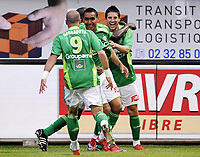 Fotball<br /> Frankrike<br /> Foto: DPPI/Digitalsport<br /> NORWAY ONLY<br /> <br /> FOOTBALL - FRENCH CHAMPIONSHIP 2008/2009 - L1 - LE HAVRE AC v AS SAINT ETIENNE - 13/05/2009 - JOY ASSE AFTER THE KEVIN MIRALLAS 'S GOAL