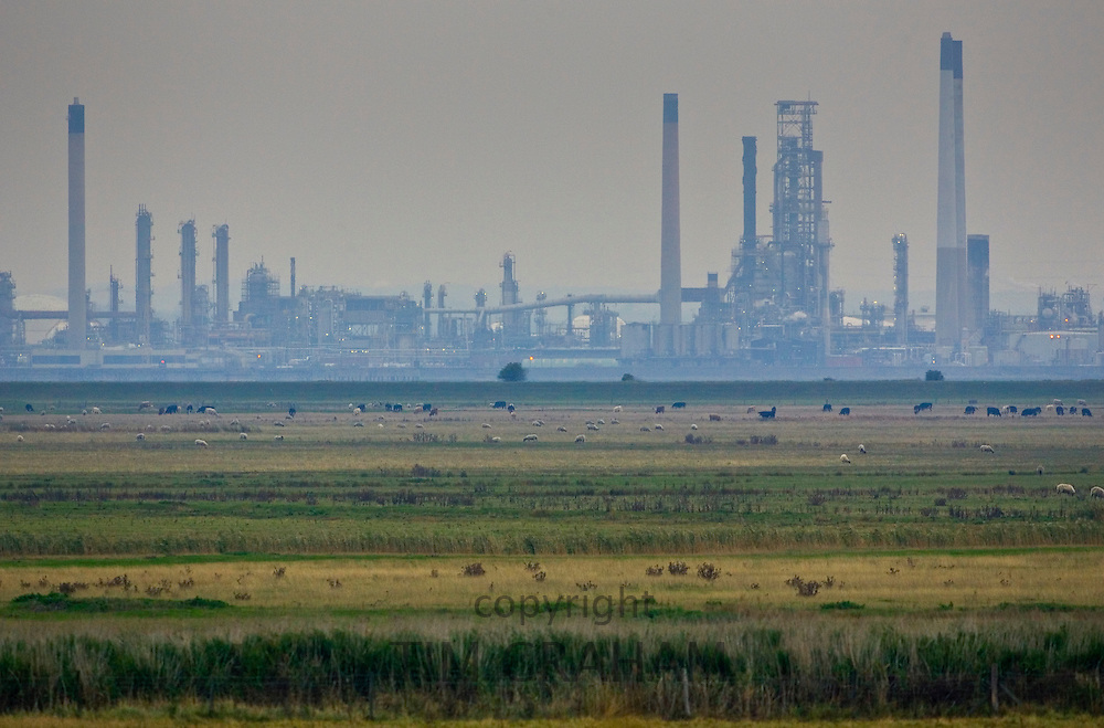 BP Oil Refinery at Coryton, North Kent, United Kingdom