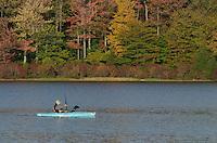 Kayaking on Lake Jean, Ricketts Glen Pennsylvania