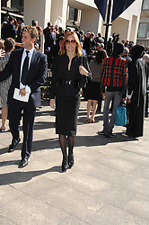TARA PALMER-TOMPKINSON at the memorial service of Isabella Blow held at the Guards Chapel, London W1 on 18th September 2007.<br /><br />NON EXCLUSIVE - WORLD RIGHTS