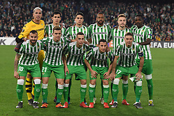 February 21, 2019 - Seville, Spain - Real Betis team group during the Europa League round of 32 second leg soccer match between Betis and Rennes at the Benito Villamarin stadium, in Seville, Spain, Thursday, Feb. 21, 2019  (Credit Image: © Gtres/NurPhoto via ZUMA Press)