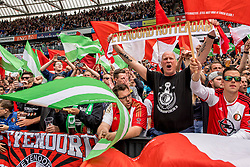 14-05-2017 NED: Kampioenswedstrijd Feyenoord - Heracles Almelo, Rotterdam<br /> In een uitverkochte Kuip pakt Feyenoord met een 3-0 overwinning het landskampioenschap / support publiek legioen