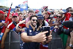 July 27, 2017 - Budapest, Hungary - Motorsports: FIA Formula One World Championship 2017, Grand Prix of Hungary, ..#3 Daniel Ricciardo (AUS, Red Bull Racing) (Credit Image: © Hoch Zwei via ZUMA Wire)