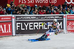 MUFFAT-JEANDET Victor of France during the Audi FIS Alpine Ski World Cup Men's Slalom 58th Vitranc Cup 2019 on March 10, 2019 in Podkoren, Kranjska Gora, Slovenia. Photo by Peter Podobnik / Sportida