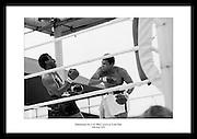 Muhammad Ali mot Al Blue Lewis på Croke Park, 1972. Legendarisk boksekamp mellom.Muhammad Ali og Al ?Blue? Lewis. Bilder av Irland på 1970-tallet.
