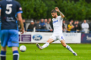 Leeds United Mateusz Klich (6) passes the ball during the Pre-Season Friendly match between Tadcaster Albion and Leeds United at i2i Stadium, Tadcaster, United Kingdom on 17 July 2019.