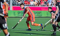 ANTWERPEN - Jelle Galema (Ned)  )  tijdens de wedstrijd  om de derde plaats bij de heren, Duitsland-Nederland (0-4) ,  bij het Europees kampioenschap hockey.  COPYRIGHT KOEN SUYK