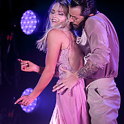 Witney Carson and Artem Chigvintsev perform during ABC Television's Dancing with the Stars tour at Township Auditorium in Columbia, S.C. ©Travis Bell Photography