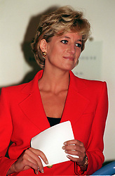 """File photo dated 08/10/96 of Diana, Princess of Wales, as the decision to broadcast controversial video tapes of the late Diana has been labelled """"lowest common denominator TV""""."""