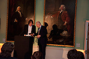 PAUL GAMBACCINI; JULIAN LLOYD WEBBER,  Founding Fellows 2010 Award Ceremony. Foundling Museum on Monday  8 March
