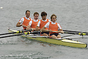 Munich, GERMANY, 2006, FISA, Rowing, World Cup, NED M4- Bow  Geert Cirkel, 2. Jan Willem, 3, Matthijs Vellenga and Gils Vermeulen.  held on the Olympic Regatta Course, Munich, Thurs. 25.05.2006. © Peter Spurrier/Intersport-images.com,  / Mobile +44 [0] 7973 819 551 / email images@intersport-images.com..[Mandatory Credit, Peter Spurier/ Intersport Images] Rowing Course, Olympic Regatta Rowing Course, Munich, GERMANY