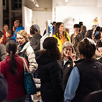 The ART123 Gallery was packed Saturday evening for the opening of the 5th Annual Youth Art Show that showcases over 200 student artists in Gallup.