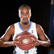 Rashard Lewis of the Orlando Magic media day at the Amway Center in downtown Orlando, Florida.