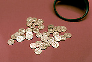 Hoard of Roman gold coins found in England