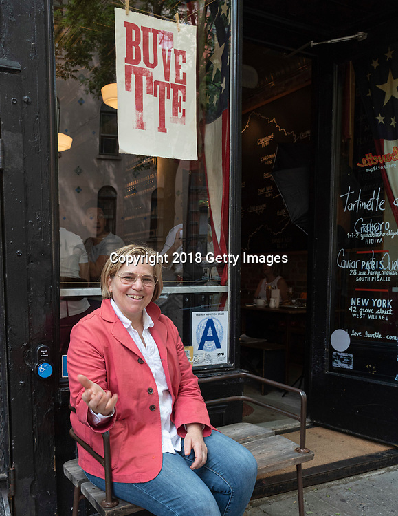 NEW YORK- JUNE 3:  Chefs Jody Williams poses for a portrait at Buvette on June 3rd, 2019 in New York City. (Photo by Kris Connor/Getty Images for OK! Magazine)