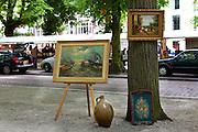 Sunday Antique market, The Hague